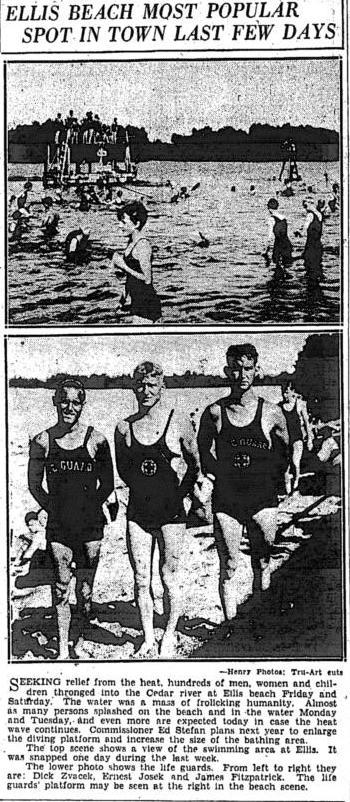 ellis beach 1928